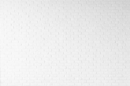 white brick wall texture for background Standard-Bild