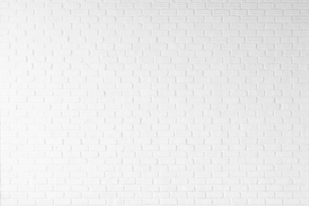 white brick wall texture for background photo