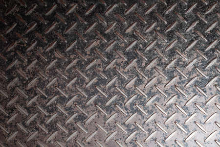 diamond plate: metal diamond plate background