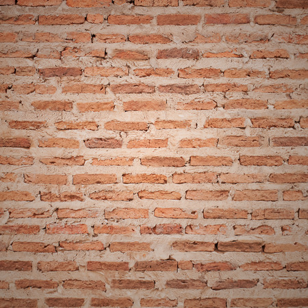 red brick: red brick wall texture grunge background Stock Photo