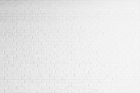 white brick wall texture for background Archivio Fotografico