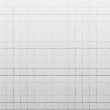 tiled wall: old white tiled wall texture for background