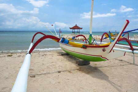 Bali Island, the boat Stock Photo - 13076308