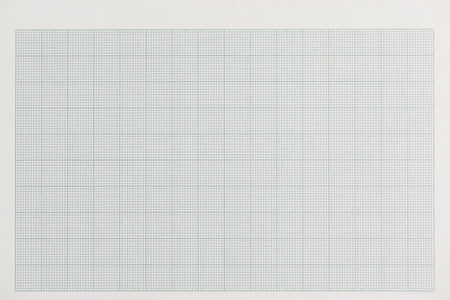 Graph paper blank form. Grid paper background . Stock Photo