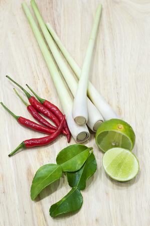 yum: Thai food ingredient for Tom yum Stock Photo