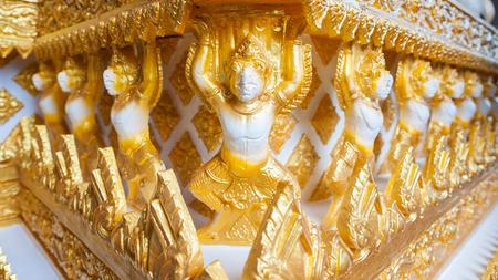garuda: Thai Garuda is unfinished Stock Photo