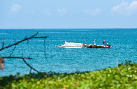 fischerei: Fischerei; Thailand Stil