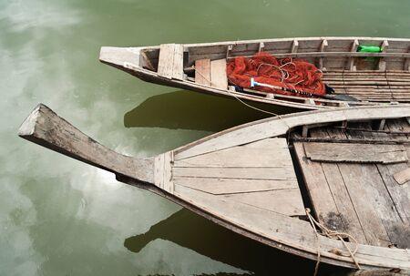 long tail: thai long tail fishing boat Stock Photo