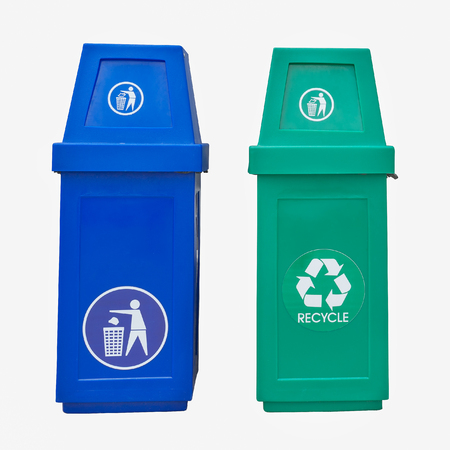wheelie: wheelie bins for rubbish, recycling and waste  isolate white background.