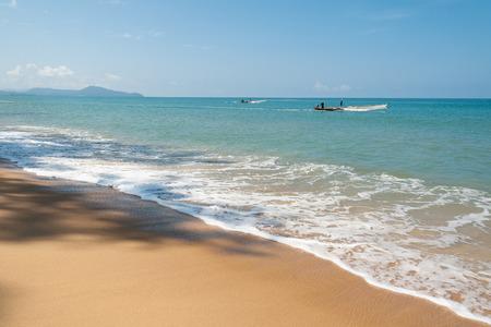 fischerei: Fischerei; Thailand Stil am Strand Lizenzfreie Bilder