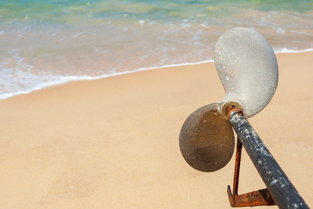 fester: Boat propeller, Long-tailed boat Asian style