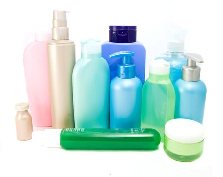 cosmetics isolated Stock Photo
