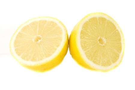 limon: limon isolated on white Stock Photo