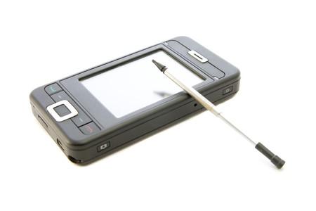 smartphone isolated Stock Photo - 4473043