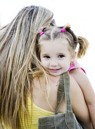 little girl and her mother Stock Photo - 4480544