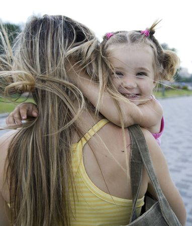girl with mother Stock Photo - 6279383