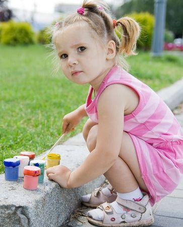baby girls: little girl