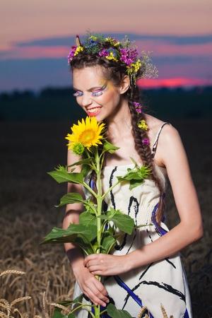 summer portrait photo