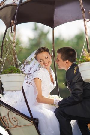 Braut und Bräutigam in der Liebe