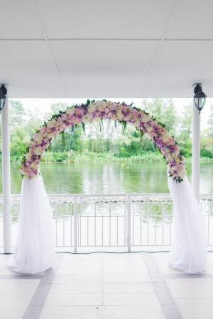 Floral Hochzeit Bogen