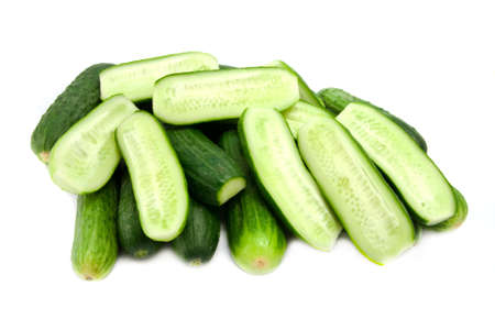 cucumbers: cucumbers isolated