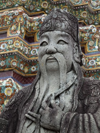 China stone in Wat Pho