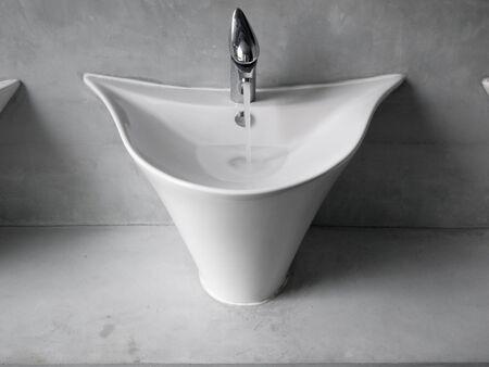 washbowl in the bathroom photo