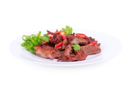 Barbecue Pork Ribs Asian Style  Stock Photo