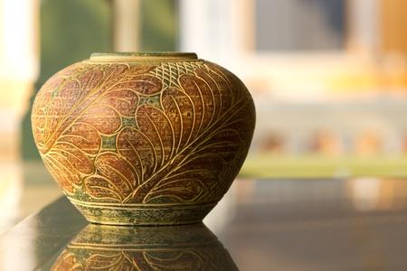 Thai pottery photo