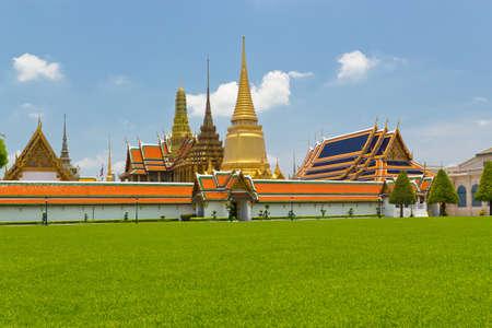 Temple of the Emerald Buddha (Wat Phra Kaew), Bangkok Thailand