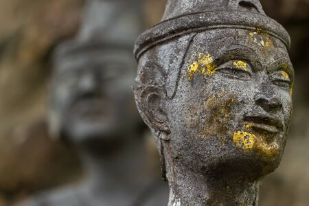 Thai massage statue at Wat Pho temple