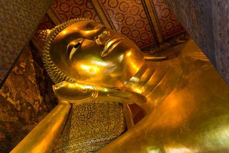 Buddha statues in Wat Pho,Thailand