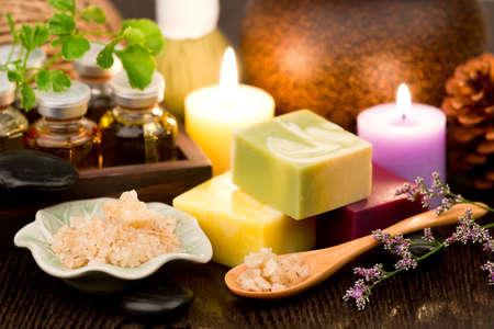 Spa Essential Oil. Aromatherapy. Stock Photo
