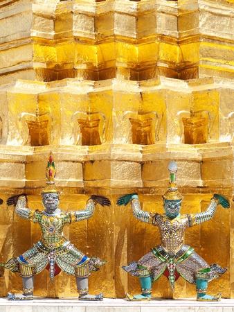 Giant in Wat Phra Kaeo, The Royal Grand Palace - Bangkok, Thailand