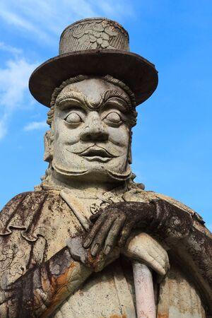 Statue at Wat Pho, Bangkok