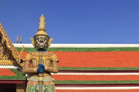 Thai authentic architecture in Bangkok, Thailand