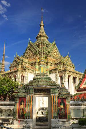 The beautiful Wat Pho in Bangkok, Thailand