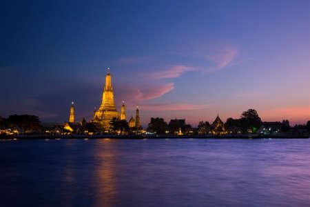 Temple in bangkok, Thailand Stock Photo