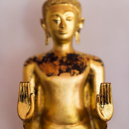 Golden buddha in Wat Pho temple, Bangkok, Thailand