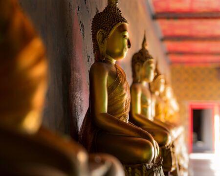 Buddha statue at Wat Arun, Bangkok Thailand. Stock Photo