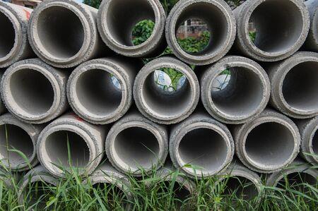 precast: Precast reinforced concrete drainsge pipe