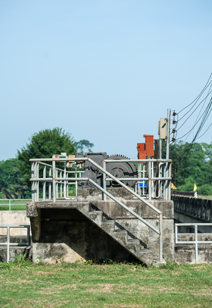 dams: The floodgates of dams, irrigation systems