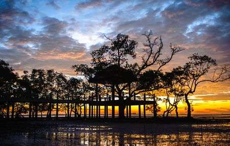 morning sky: sunrises in the morning sky, clouds and beautiful sea Archivio Fotografico