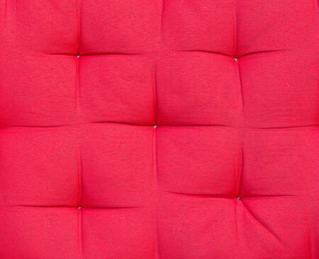 hassock: Crimson background and texture