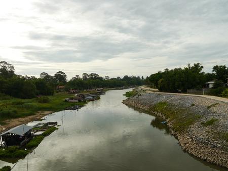 waterless: Tae-pho Island Uthai-Thani Province Thailand Stock Photo