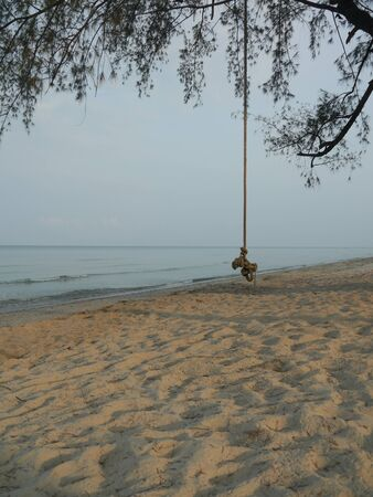 trat: At Morning Beach Trat Province in Thailand