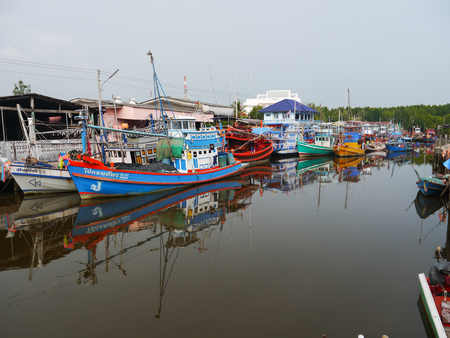 trat: Village Sea Side in Trat  Province Thailand