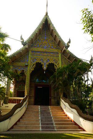 GLOD: Wat At The North Of Thailand Stock Photo