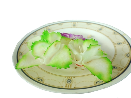 adorning: Thai Food, Decorate With Fresh Vegetable