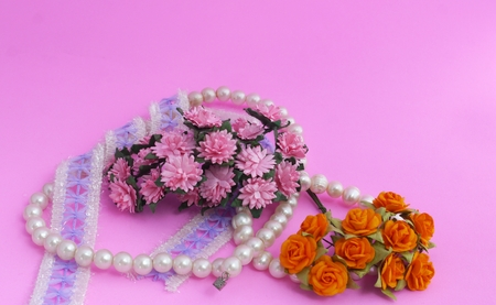 Jewelry, Necklace, Bracelet and Flower